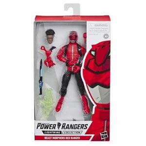 Power Rangers Beast Morphers Lightning Collection Red Ranger PRONTA ENTREGA