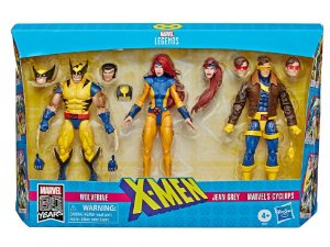Marvel Comics 80th Anniversary Marvel Legends X-Men Three-Pack Entrega em 40 dias