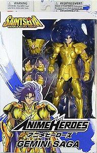 Knights of the Zodiac Anime Heroes Gemini Saga PRONTA ENTREGA