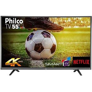PHILCO TV LED 55POL 4K UHD PTV55U21DSWNT SMART NETFLIX