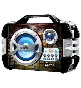 LENOXX CAIXA AMPLIF. SOUND WAVE CA325 USB/MIC/BLUETOOTH PR/PR