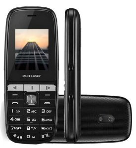 CELULAR MULTILASER UP PLAY DUAL PRETO P9076