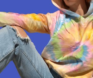 Moletom Comfy Tie Dye Candy Colors