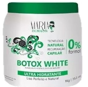 141fc243b Maria Escandalosa Botox White Sem formol 1Kg - Maria Beleza Cosméticos