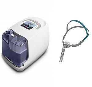 Kit CPAP Básico RESmart Gl com Umidificador e Máscara Nasal P2 Pillow Interface-Tamanhos P, M e G