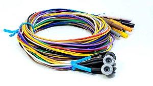 Eletrodo de EEG Neurosoft NS-DECL101500-PC - 1,5m - AgAgCl/PVC
