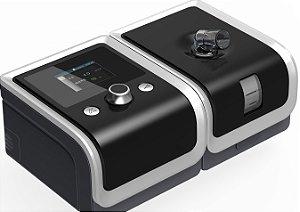 Kit CPAP Auto RESmart Gll E-20AJ-H-O com Umidificador e Máscara Oro-Nasal iVolve Full Face