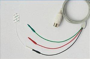 Cabo de 3 vias para Eletrodos Sensoriais Neurosoft NS SEC-5P/3x0.7/1500 - 1,5m