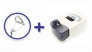 Kit CPAP Básico RESmart Gl com Umidificador e Máscara Nasal Fealite Pillow - Tamanhos P, M e G