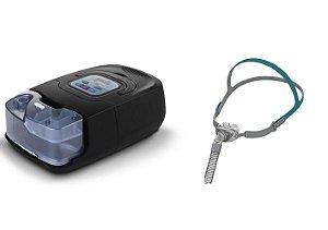 Kit CPAP Auto RESmart Gl com Umidificador e Máscara Nasal P2 Pillow Interface-Tamanhos P, M e G