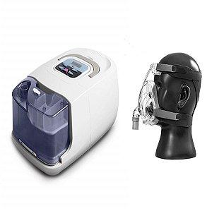 Kit CPAP Básico RESmart Gl com Umidificador e Máscara Full Face F2