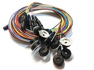 Eletrodo de EEG Highlander 250cm PE1115 (Pacote com 10)