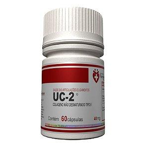 UC2 40mg 60 cápsulas Autêntico - Colágeno tipo 2