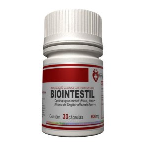 BIOintestil 600mg 30 cápsulas - Saúde gastrointestinal