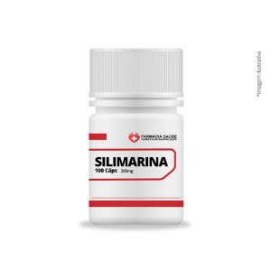 Silimarina 200mg  100 cáps