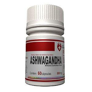 Ashwagandha 500mg 60 cápsulas - Ginseng Indiano