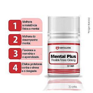 SupleMental Plus - 60 cápsulas - Estimula ativação fisica e mental |FS