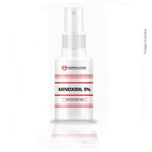 Minoxidil 5% Spray - 60ml - Cabelo e Barba