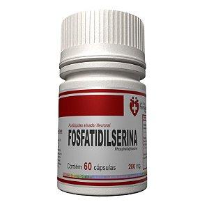 Fosfatidilserina 200mg 60 cápsulas - ativador neuronal