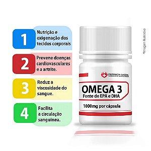 Omega3 - 900mg EPA/DHA cada 3cáps - 90 cápsulas |FS