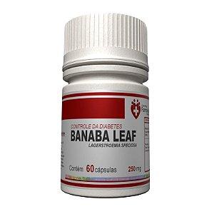 Banaba Leaf 250mg 60 Cápsulas - Lagerstroemia Speciosa