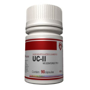 UC2 40mg 90 cápsulas Autêntico - Colágeno tipo 2