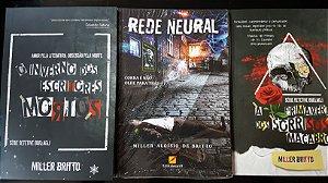Rede Neural, mais os 2 livros da série Detetive Borzagli.