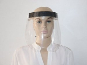 Protetor Facial Transparente (Viseira) - Kit Com 5 unidades