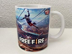 Caneca Free Fire 325ml Porcelana
