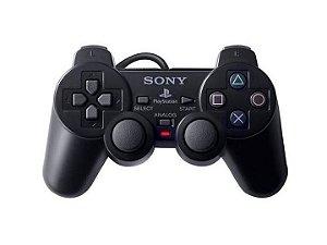 Controle Dualshock 2 Com Fio Sony 96% Original