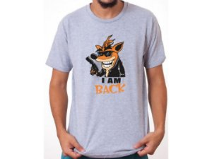 Camiseta Crash I'm Back