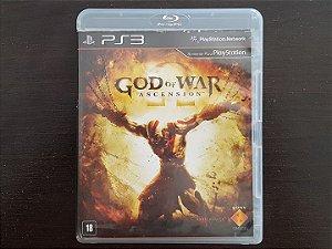 God Of War Ascension Seminovo Playstation 3