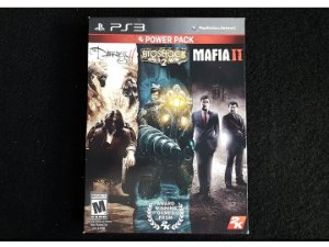 3 in 1 Darkness 2 - Bioshock 2 - Mafia 2 - Seminovo