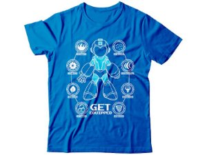 Camiseta Megaman Get Equipped