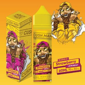 Cush Man Mango Strawberry 60ml 0mg