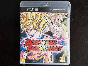 Dragon Ball Z Raging Blast - Seminovo