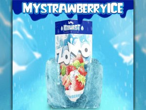 Strawberry Ice Zomo 60ml + 10ml Iceburst 3mg