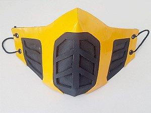 Máscara Facial Scorpion - Alto Relevo