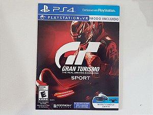 Gran Turismo Sport (Caixa de Papelão) - Seminovo