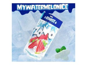 Watermelon Ice Zomo 60ml + 10ml Iceburst 3mg