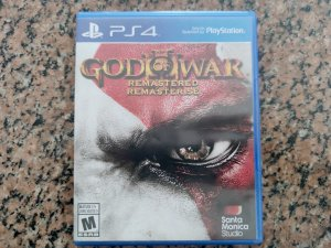 God Of War 3 Remastered - Seminovo