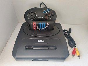 Mega Drive 3 com 10 Jogos