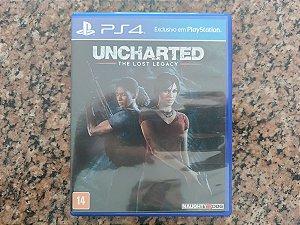Uncharted Lost Legacy - Seminovo