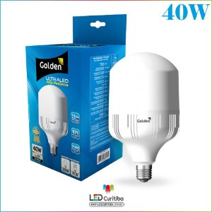 Lampada Led Golden 40w Ultraled E27 3600 Lm Bivolt