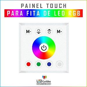 Painel Touch Para Fita Rgb De Embutir Lp Ft Rgb Pnl