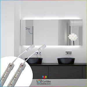 Barra De Led Para Espelho De Banheiro 1m Alto Brilho 6000k