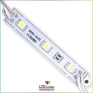 Kit 20 Modulo De Led 5050 6500k Smd 5050 12v Resinado Kit