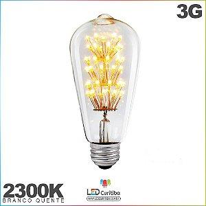 Lampada de Filamento de Led 3G 2300K E27
