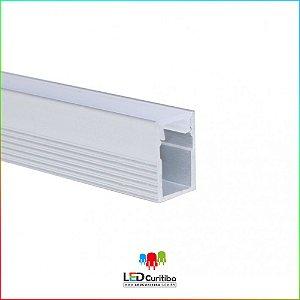 Perfil de Sobrepor para Led em Alumínio EKPF12SL