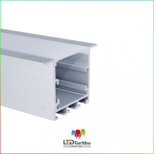 Perfil de Embutir  para Led em Alumínio EKPF51